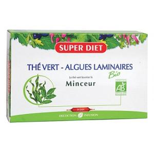 Зелен чай и водорасли Ламинария