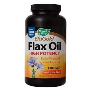 Ленено масло 1300 mg 57% АЛК