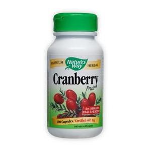 Червена боровинка (плод) 465 mg