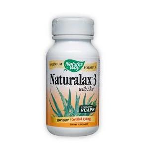Натуралакс 3 (с Алое Вера) 430 mg
